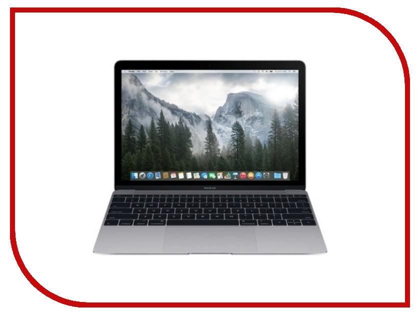 Ноутбук APPLE MacBook 12.0 MF855RU/A Silver Core M 1100 Ghz/8192Mb/256Gb SSD/Intel HD Graphics 5300/Wi-Fi/Bluetooth/Cam/12.0/2304x1440/MacOS X<br>