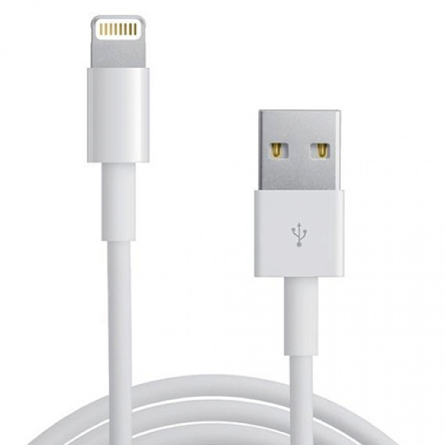 Аксессуар Gembird USB для iPhone 5 / 6 CC-USB-AP2MWP White