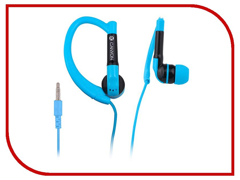 Canyon Sport Earphones Blue CNS-SEP1BL