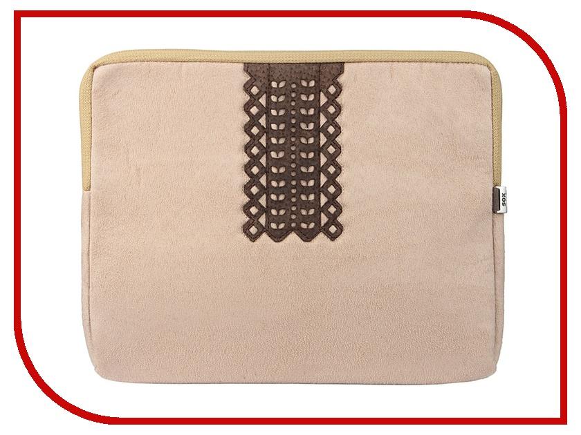 Аксессуар Чехол SOX SLE MOUL1 IPAD для iPad Beige аксессуар чехол sox sle ea 06 ipad для ipad green