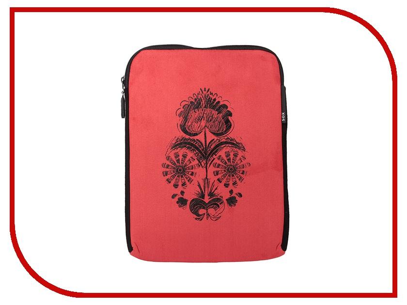 Аксессуар Чехол SOX SLE TUL IPAD для iPad Red аксессуар чехол sox sle ea 06 ipad для ipad green