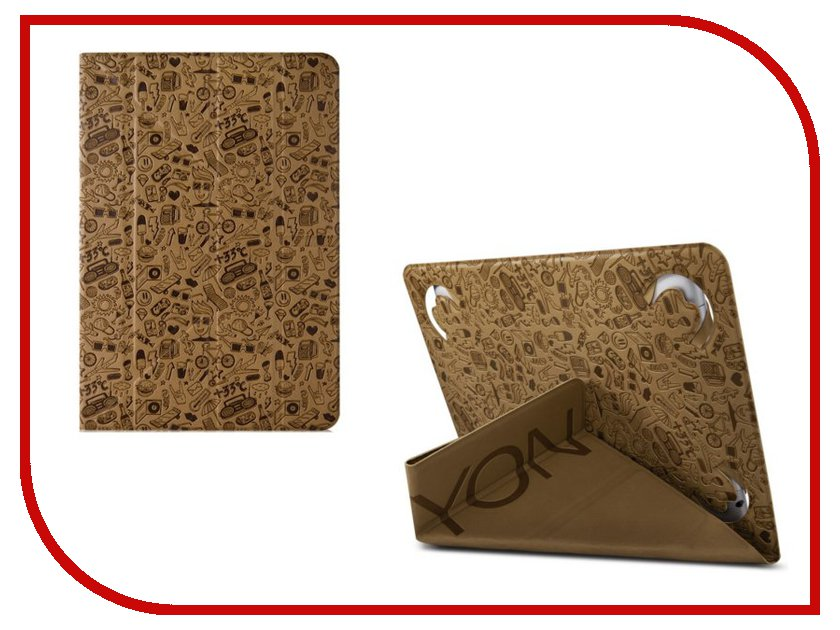 Аксессуар Чехол Canyon Life Is Universal Case for 7 Tablet Beige CNS-C24UT7BE