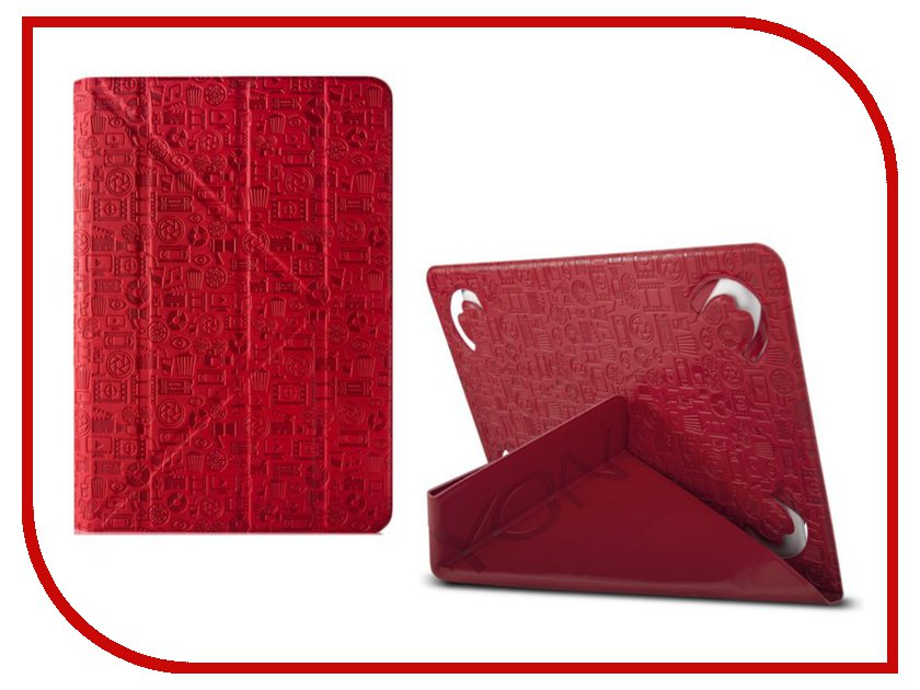 Аксессуар Чехол Canyon Life Is Universal Case for 7 Tablet Red CNS-C24UT7R