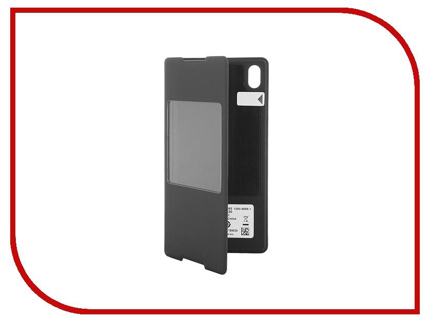 Аксессуар Чехол Sony Xperia Z3+ Style Cover Window SCR30 Black<br>