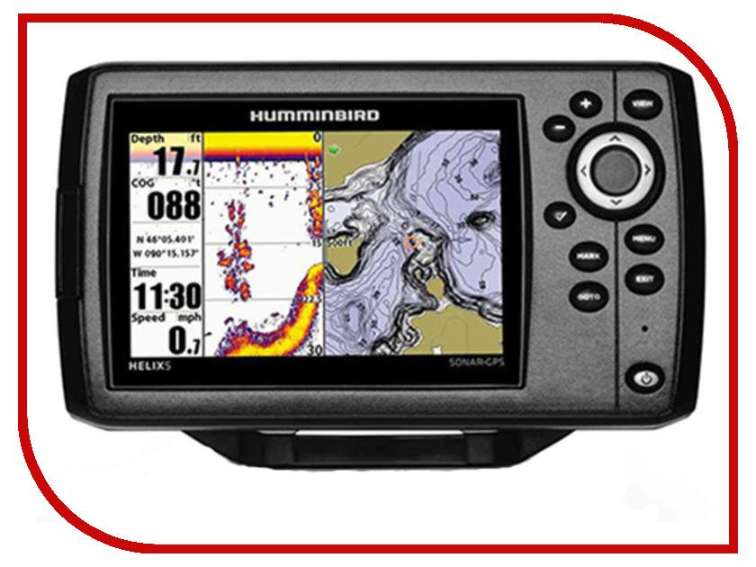 Эхолот Humminbird Helix 5 Sonar GPS HB-Helix5GPS эхолот humminbird helix 12x chirp si gps