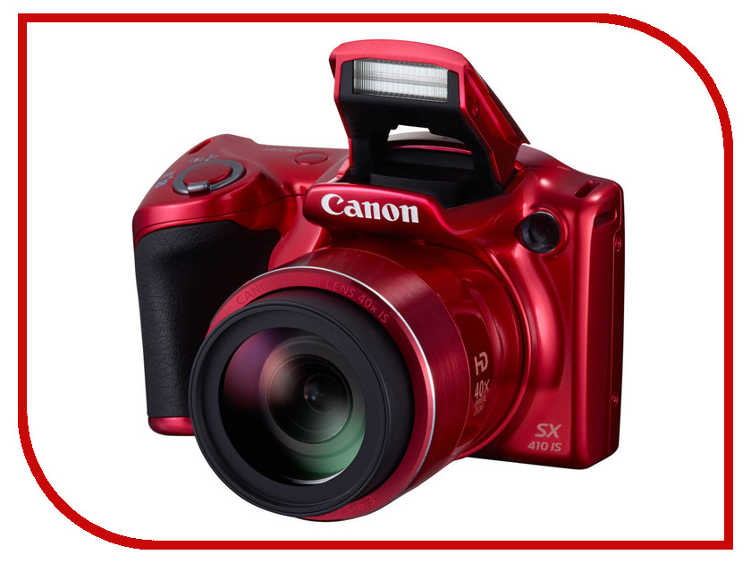 Фотоаппарат Canon PowerShot SX410 IS Red<br>