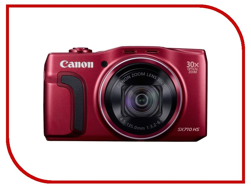 Фотоаппарат Canon PowerShot SX710 HS Red*