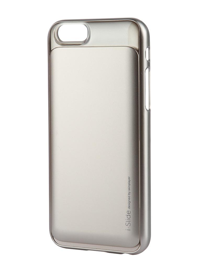 Аксессуар Клип-кейс Skinplayer i-Slide for iPhone 6 Gold