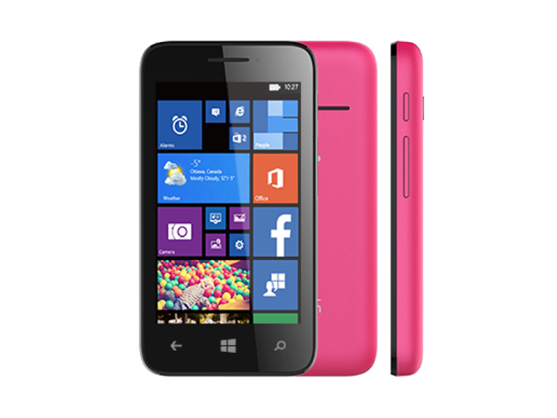 Сотовый телефон Alcatel OneTouch 4013D PIXI 3 (4) Black-Pink