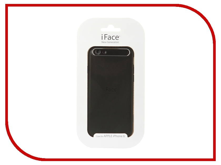 Аксессуар Чехол iFace New Generation BLACK для iPhone 6 Black for iphone 6s 6 4 7 inch superb iface mall glossy pc