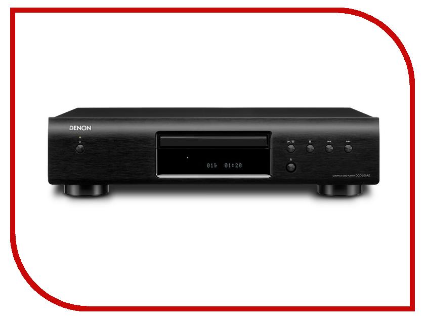 CD-проигрыватель Denon DCD-520AE Black