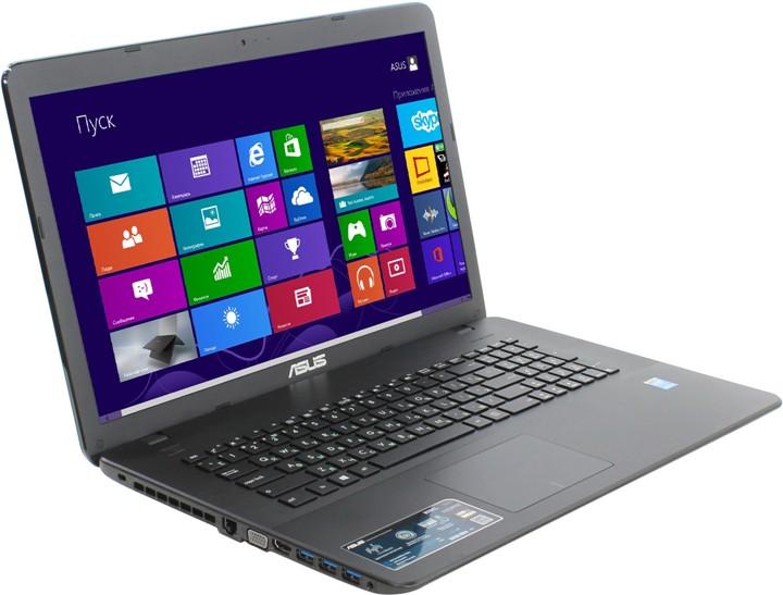 Ноутбук ASUS X751LAV 90NB04P1-M02770 Intel Core i3-5010U 2.1 GHz/6144Mb/1000Gb/DVD-RW/Intel HD Graphics/Wi-Fi/Bluetooth/Cam/17.3/1600x900/Windows 8.1 64-bit<br>