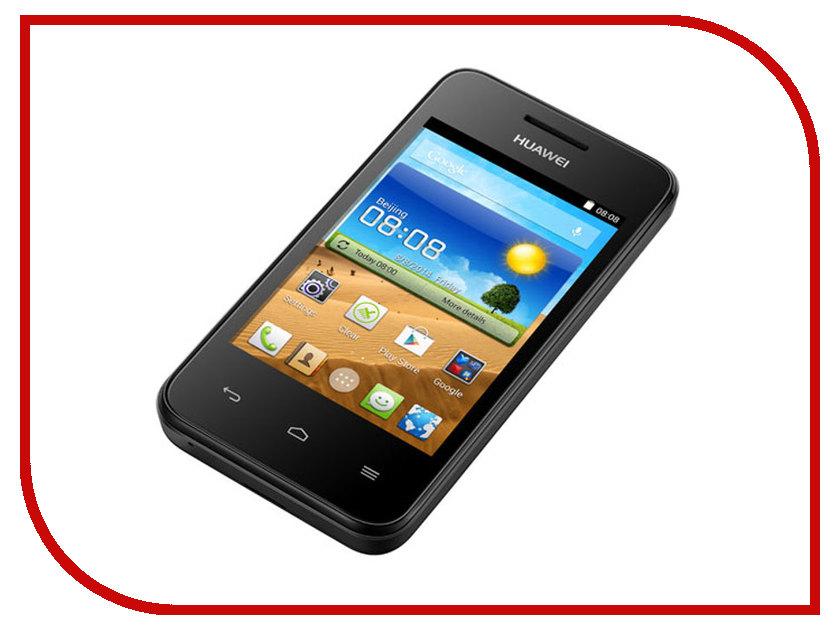 Сотовый телефон Huawei Ascend Y221 Black<br>