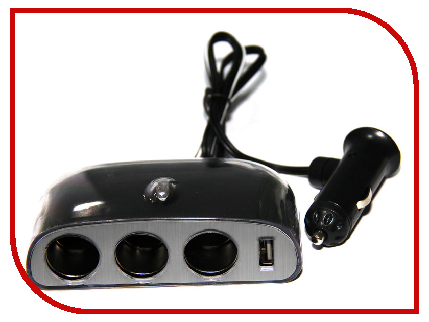 Разветвитель Activcar ACT-WF-0032 Black 8812