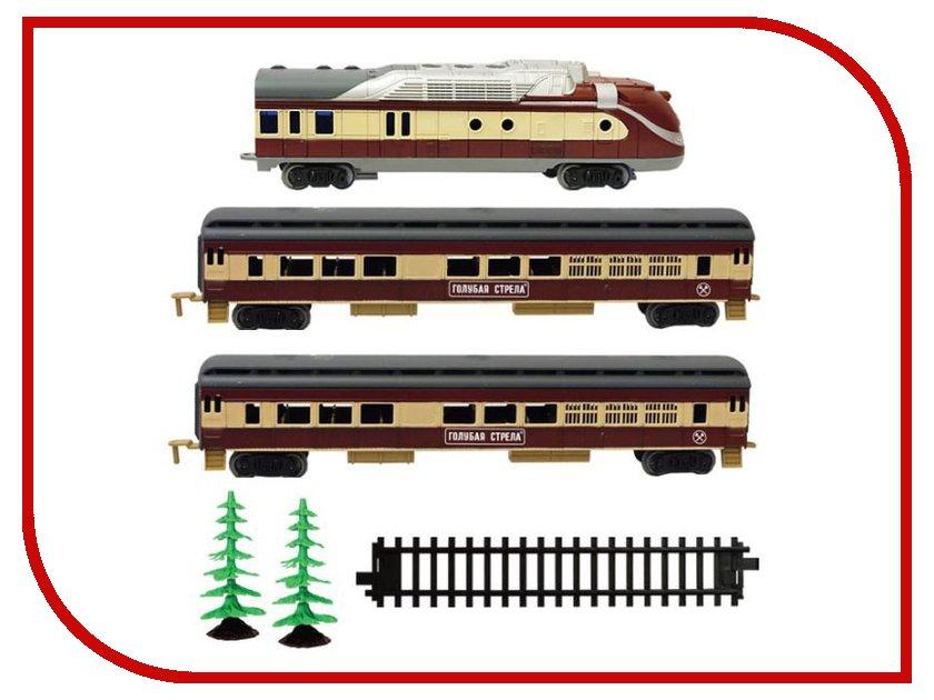 Железная дорога Голубая стрела Стартовый набор 2021B от Pleer