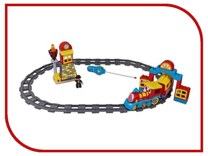 Железная дорога Голубая стрела Веселый паровозик 87183 от Pleer