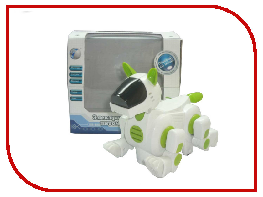 Радиоуправляемая игрушка Shantou Gepai Собака Мухтар 09-939