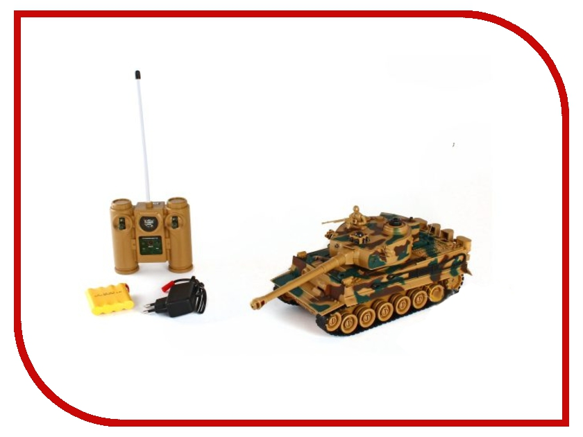 Игрушка Пламенный мотор 1:28 TIGER 87553 бронетехника пламенный мотор набор трансформер танк командный пункт