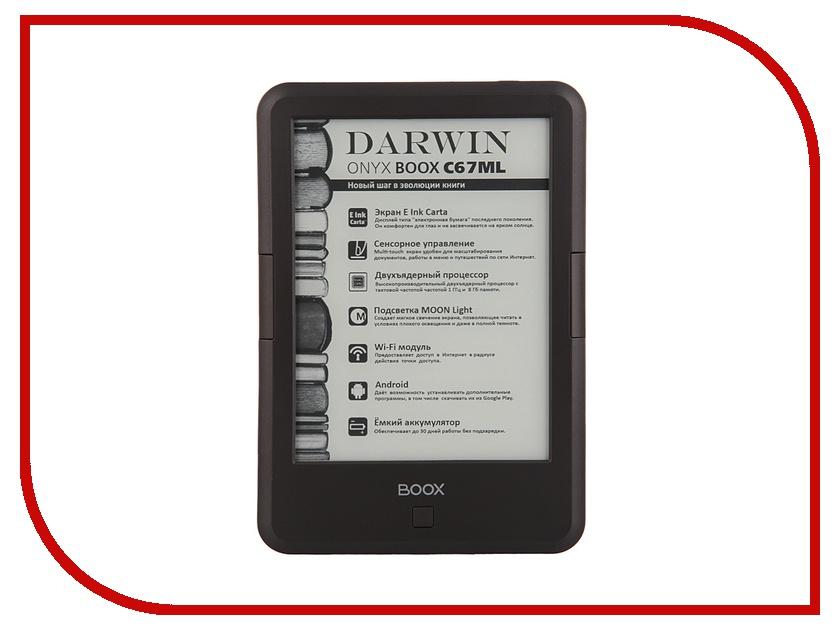 Электронная книга Onyx Boox C67ML Darwin Black<br>