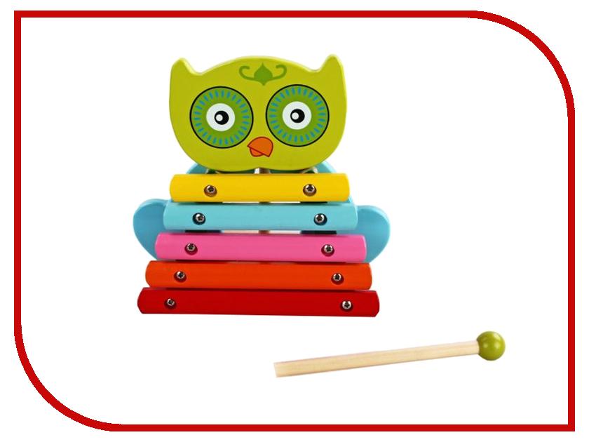 Детский музыкальный инструмент Mapacha Ксилофон Совенок 76430