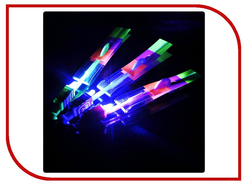 Игрушка Shantou Gepai / СмеХторг Вертолетик светящийся 20см 63628