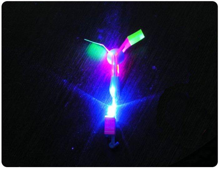 Игрушка Shantou Gepai / СмеХторг Наша игрушка Вертолетик светящийся 15.5см 63627