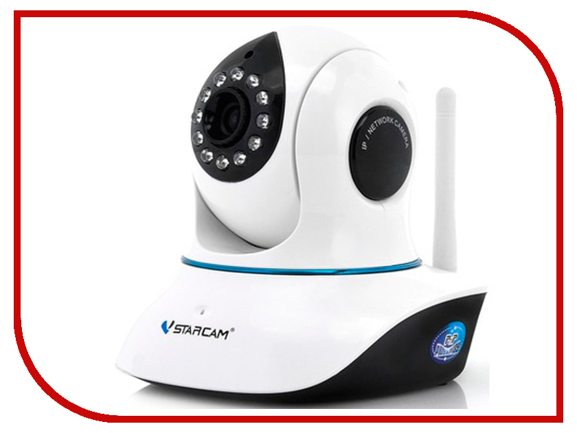 IP камера VStarcam C7838WIP камера vstarcam c7838wip mini беcпроводная ip камера 1280x720 280° p2p 3 6mm 0 8lx microsd