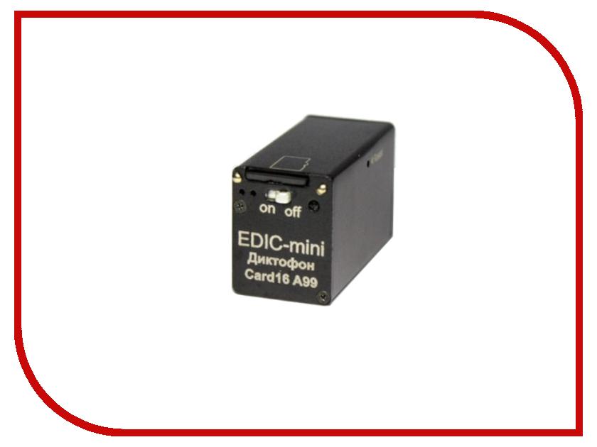 Диктофон Edic-mini Card 16 A99