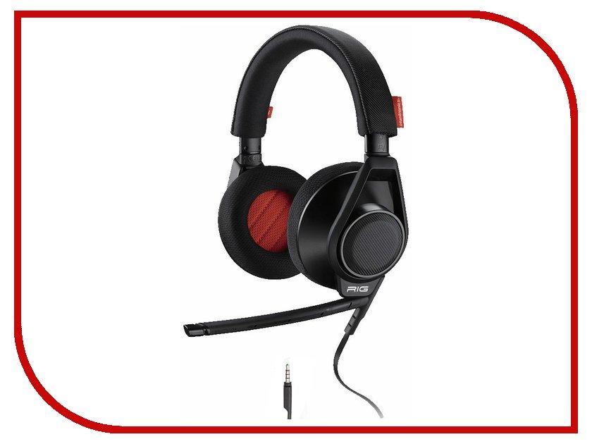 Гарнитура Plantronics RIG Flex Black гарнитура plantronics audio 655 dsp