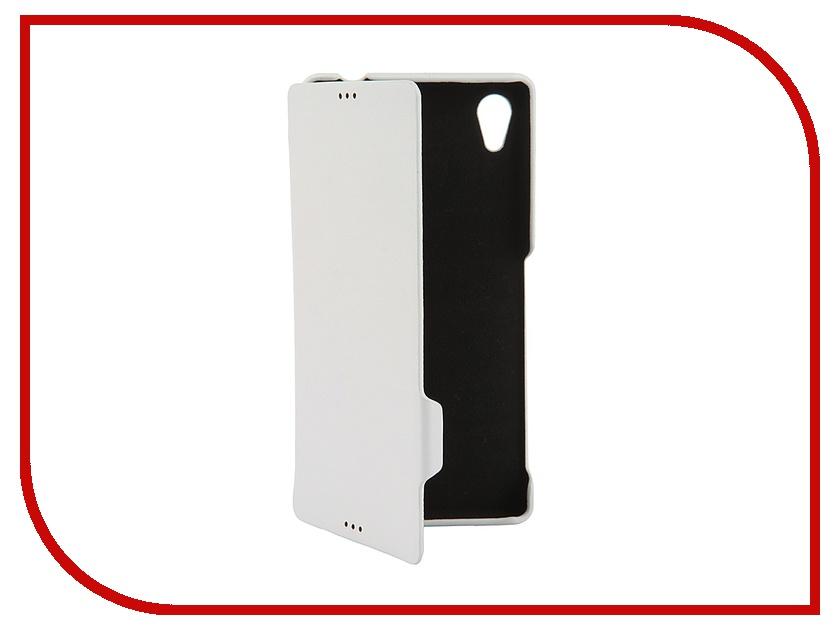 Аксессуар Чехол Sony Xperia M4 Untamo Aqua Rocca White URCBSONYM4AWH<br>