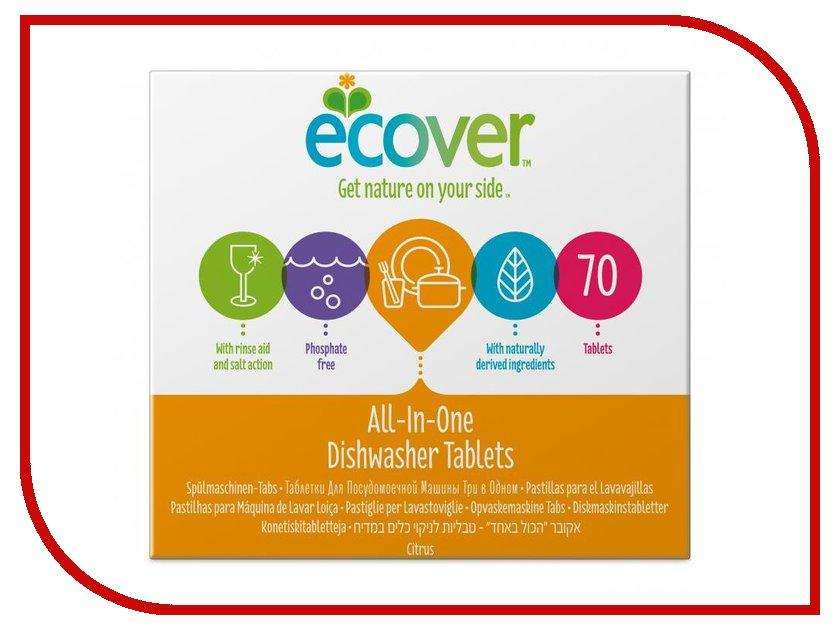 Средство Ecover таблетки для посудомоечной машины 3 в 1 1,4кг 4001925