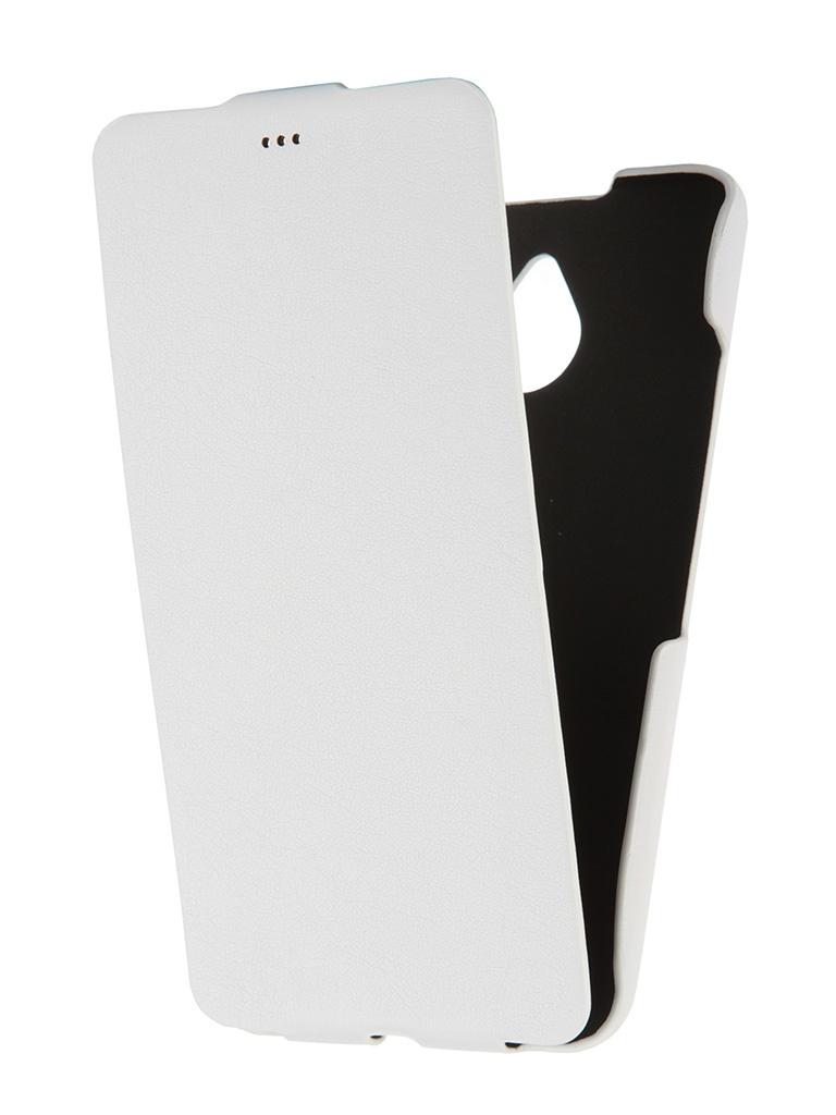 Аксессуар Чехол Microsoft Lumia 640 XL Untamo Rocca White URCFLUM640XLWH<br>