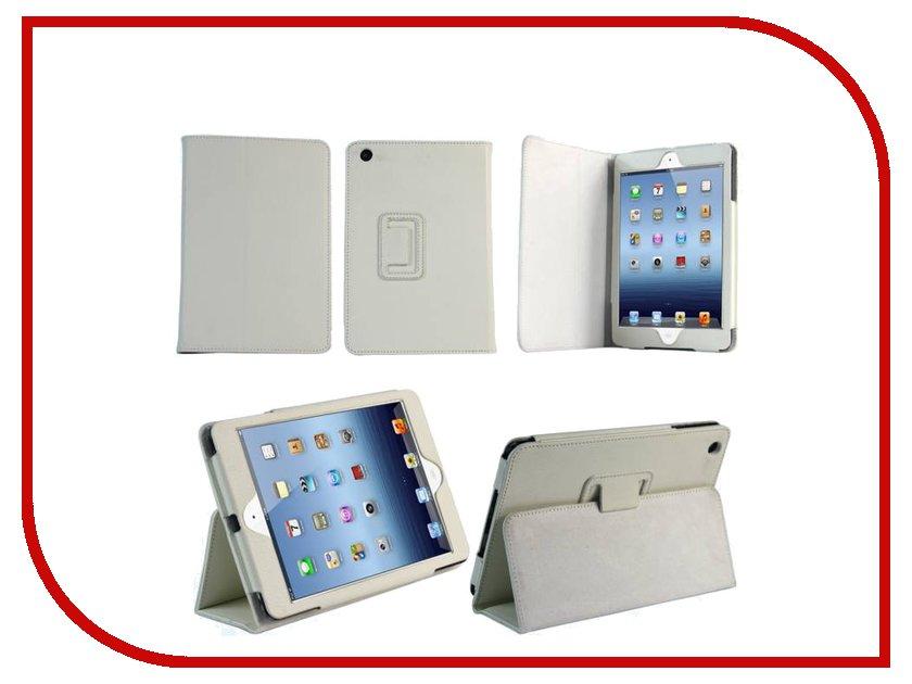 Аксессуар Чехол APPLE iPad Mini 7.9 IT Baggage иск. кожа White ITIPMINI02-0