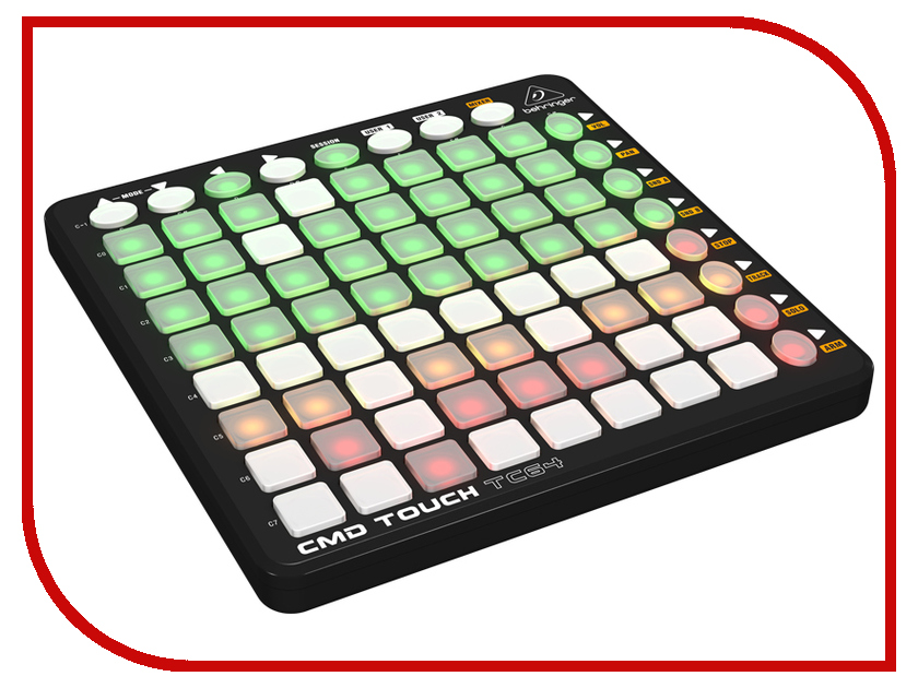 MIDI-контроллер Behringer CMD Touch TC64 midi контроллер behringer cmd touch tc64