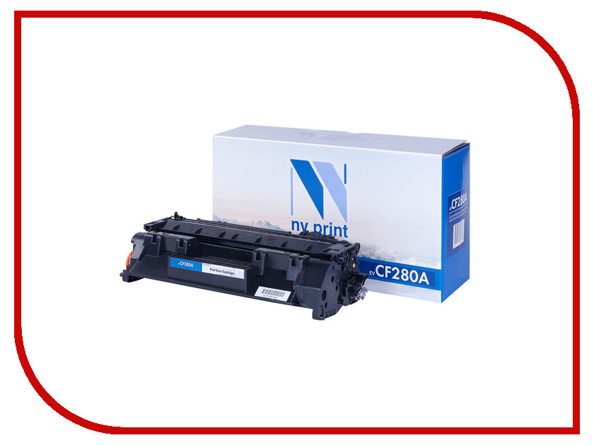 Картридж NV Print CF280A для LJ M401D/M401DW/M401DN rm1 8808 rm1 8809 fusing heating assembly use for hp m401 m401a m401n m401dn m401dw 401 fuser assembly unit