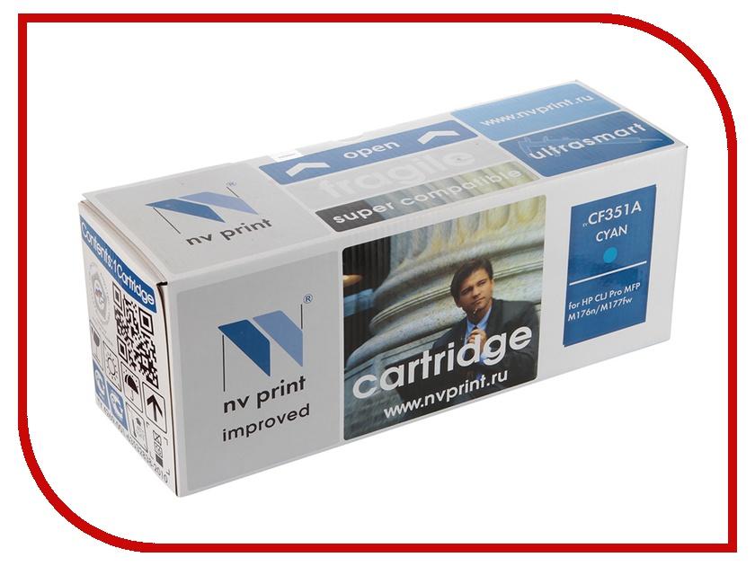 Картридж NV Print CF351A Cyan для CLJ Pro MFP M176n/M177fw<br>