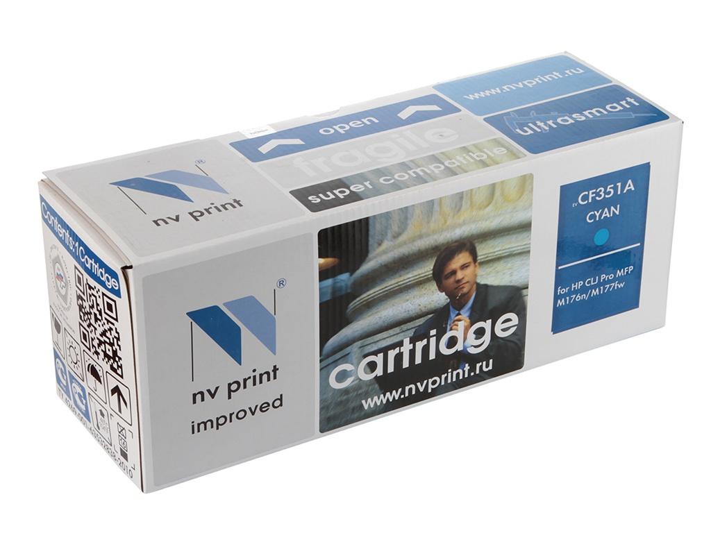 Картридж NV Print CF351A Cyan для CLJ Pro MFP M176n/M177fw