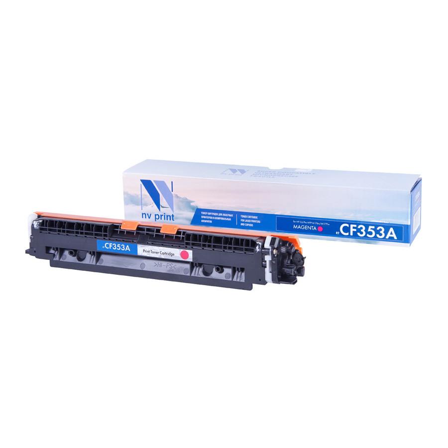 цена на Картридж NV Print CF353A Magenta для CLJ Pro MFP M176n/M177fw