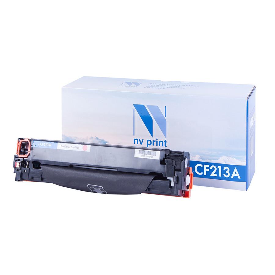 Аксессуар NV Print CF213A Magenta для LJ Pro M251/M276