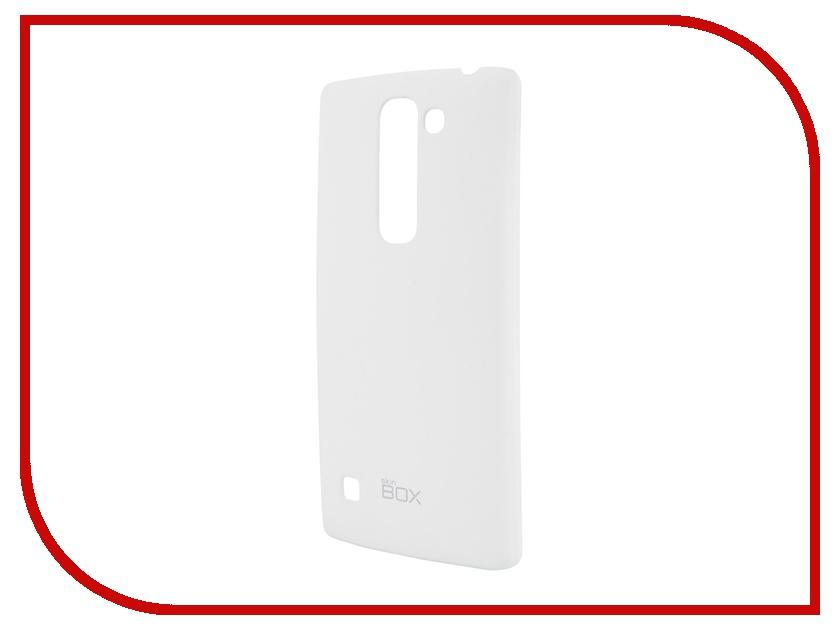 Аксессуар Чехол-накладка LG Spirit SkinBox 4People White T-S-LS-002 + защитная пленка<br>
