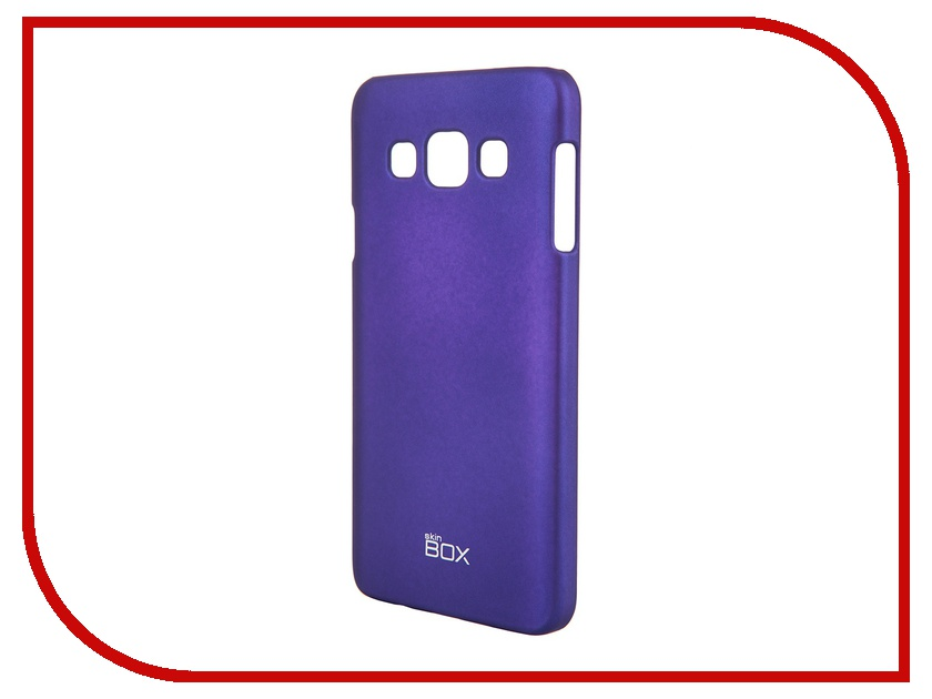 Аксессуар Чехол Samsung Galaxy A3 / A300 SkinBox 4People Blue T-S-SGA300-002 + защитная пленка<br>
