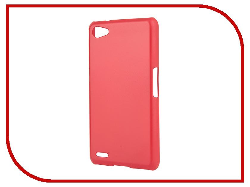 Аксессуар Чехол-накладка Philips W6610 SkinBox 4People Red T-S-PW6610-002 + защитная пленка
