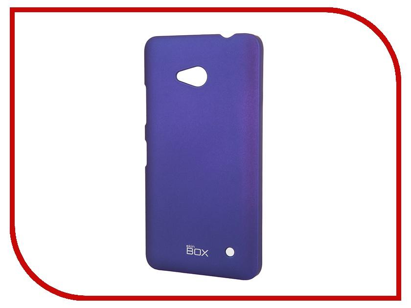 Аксессуар Чехол-накладка Microsoft Lumia 640 SkinBox Shield 4People Blue T-S-ML640-002
