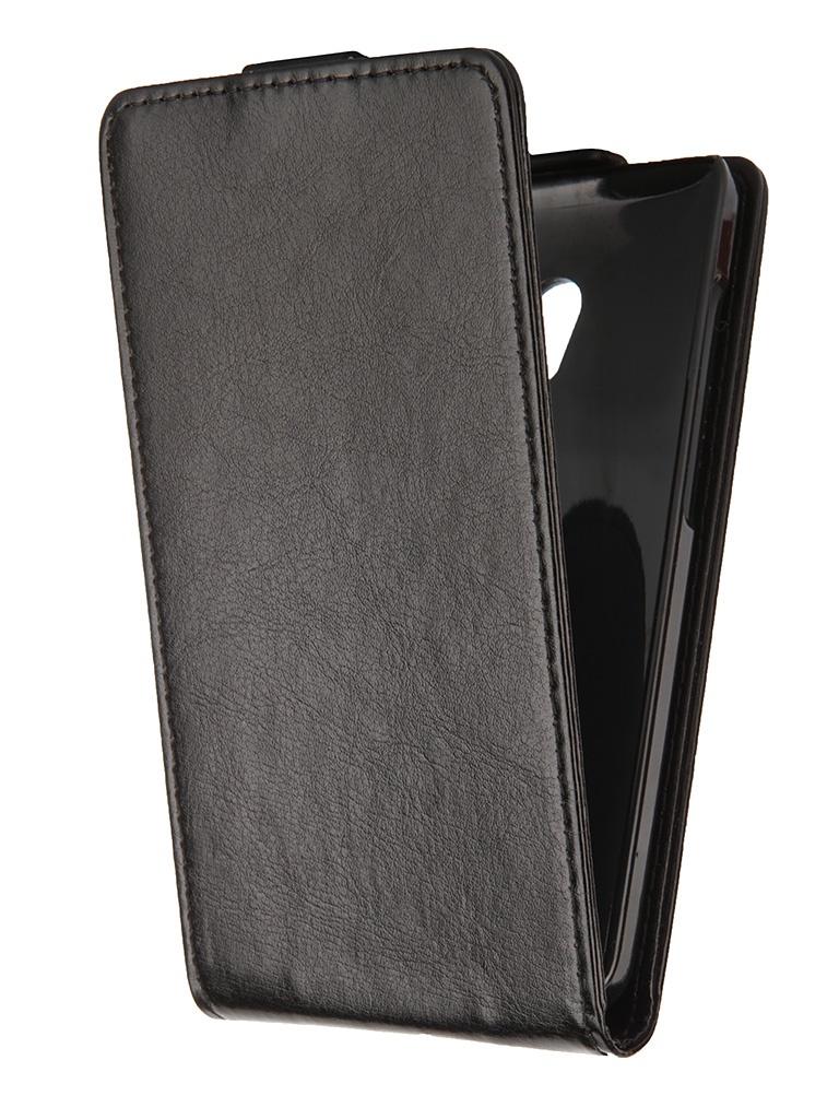 Аксессуар Чехол-флип ASUS ZenFone 5 Lite SkinBox Black T-F-AZP5L