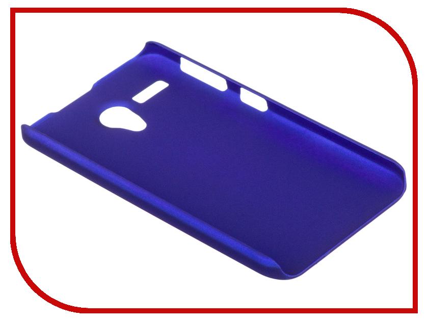 Аксессуар Чехол-накладка Lenovo A606 SkinBox 4People Blue T-S-LA606-002 + защитная пленка