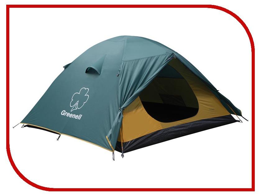Палатка Greenell Гори 4 Green 25403-303-00 палатка greenell велес 3 v2 green 25493 303 00