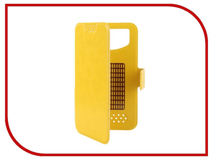 Аксессуар Чехол Gecko 4.5-5.5-inch M Yellow GG-B-UNI45-YEL