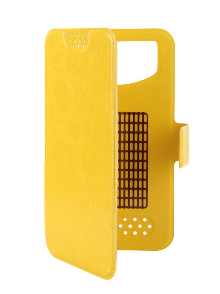 Аксессуар Чехол Gecko 4.5-5.5-inch M Yellow GG-B-UNI45-YEL<br>