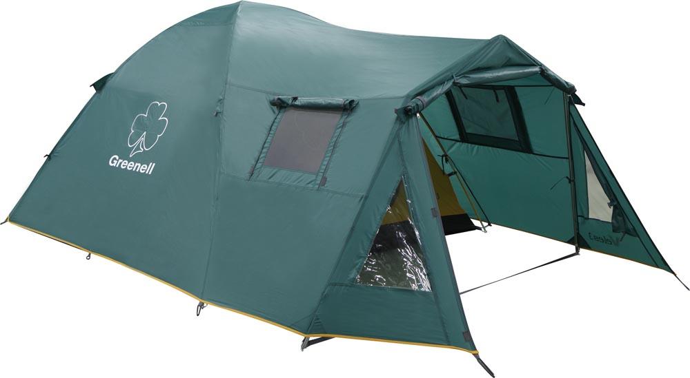 Палатка Greenell Велес 4 V2 Green 25503-303-00 палатка totem tepee v2 green ttt 020