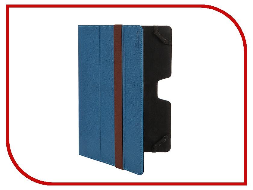 Аксессуар Чехол 10.1 ST Case иск. кожа Blue ST-c-FCU10-BLU-LTH<br>